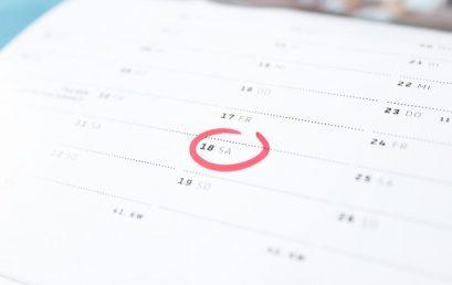 Publicado el calendario TFG curso 2017-18