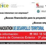 Hackathon de desarrollo territorial